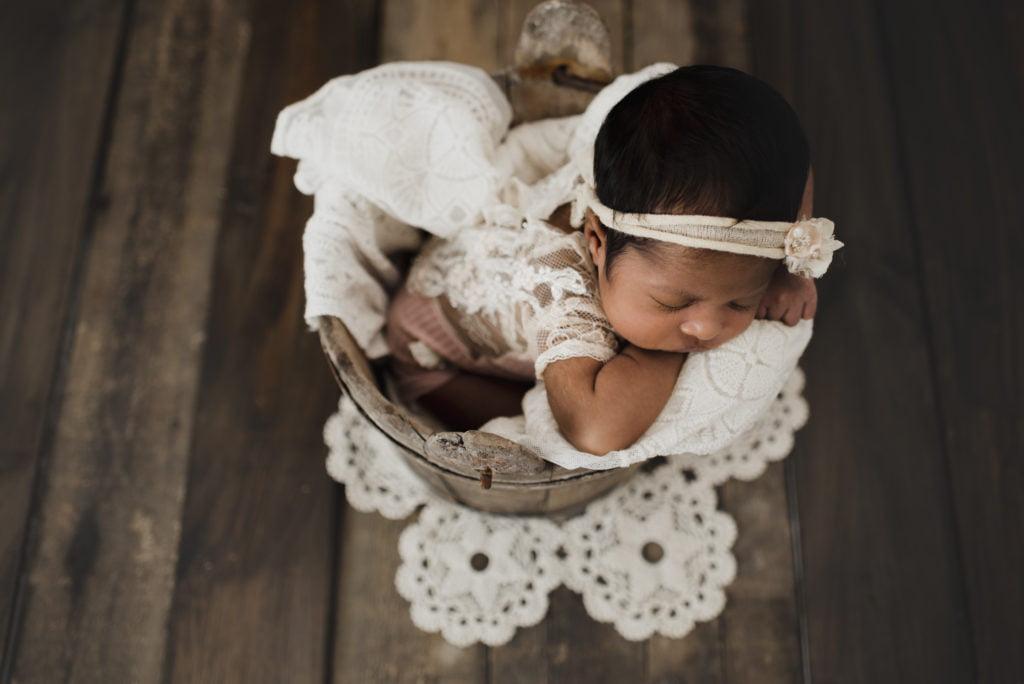 En nyföddfotografering i myshörnan 6