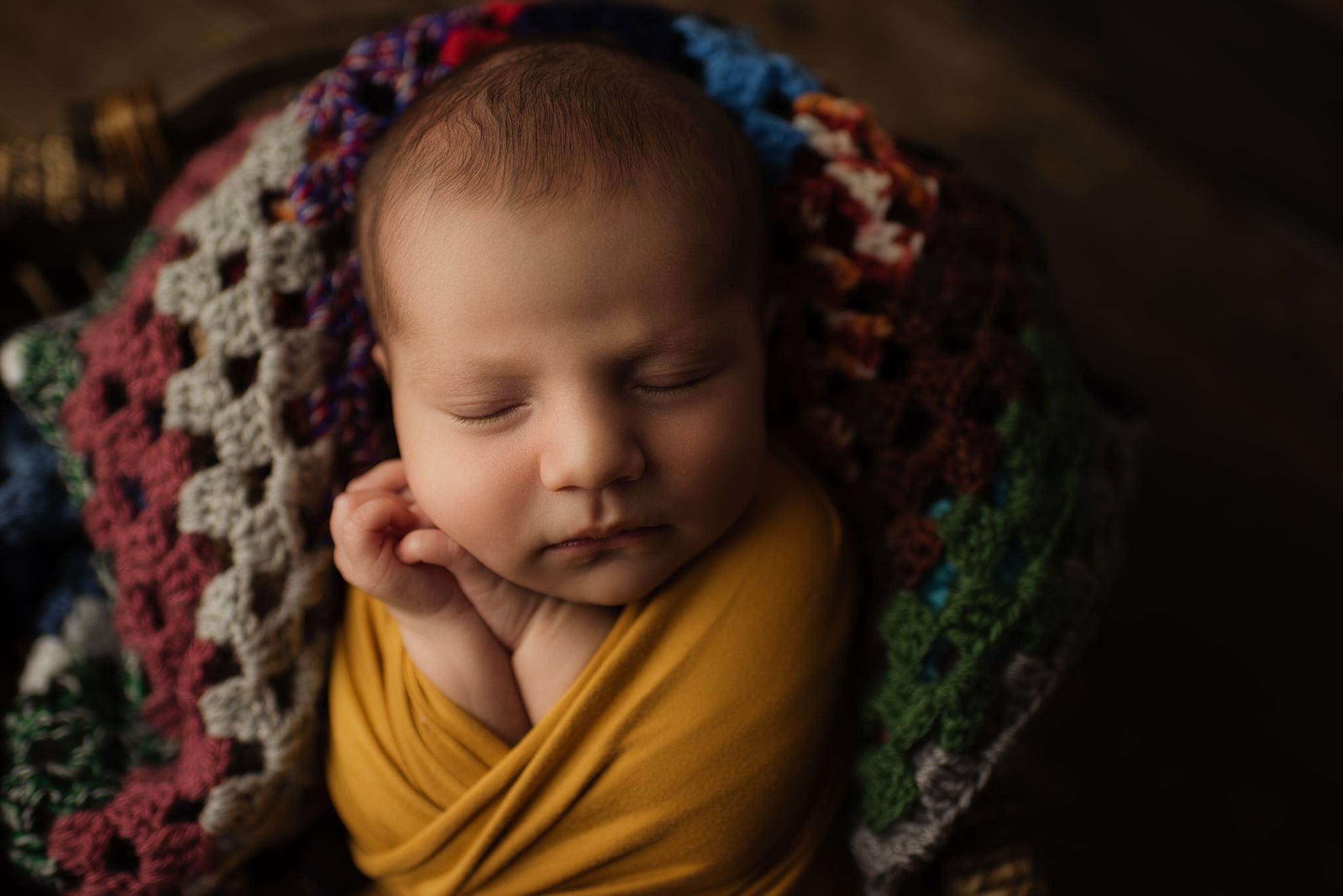 En mysig nyföddfotografering med Neia 7