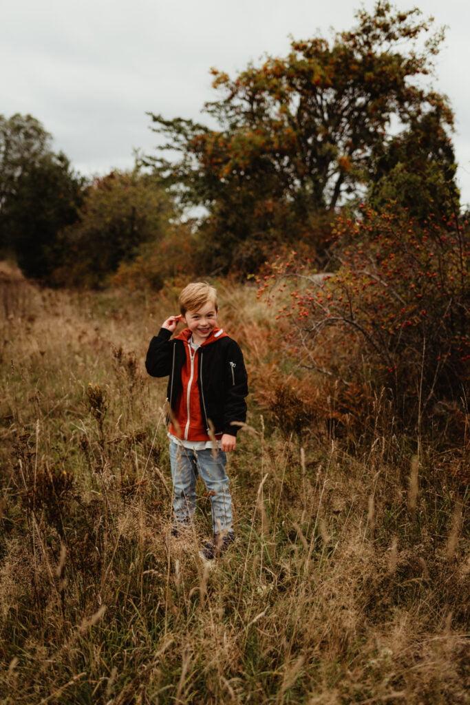 Då jag fick min Bruno för mig själv - Barnfotografering 1