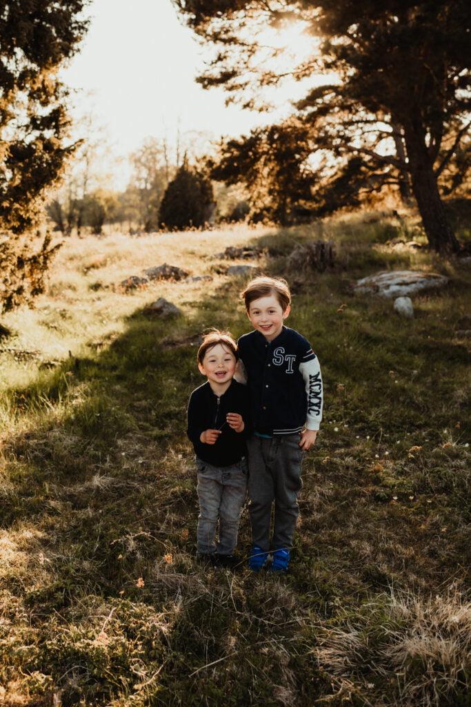 Kusiner - Familjefotografering 3