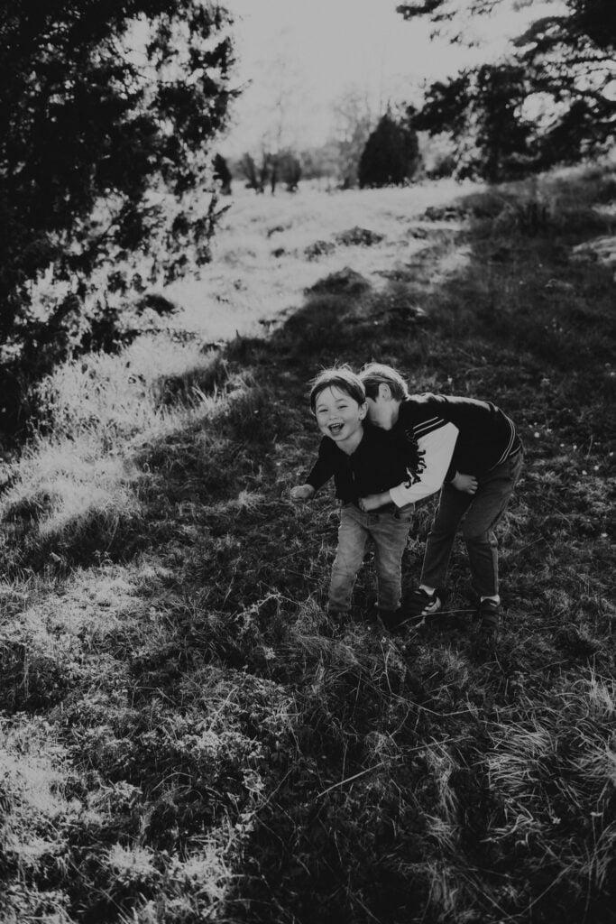 Kusiner - Familjefotografering 4