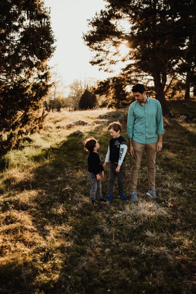 Kusiner - Familjefotografering 5