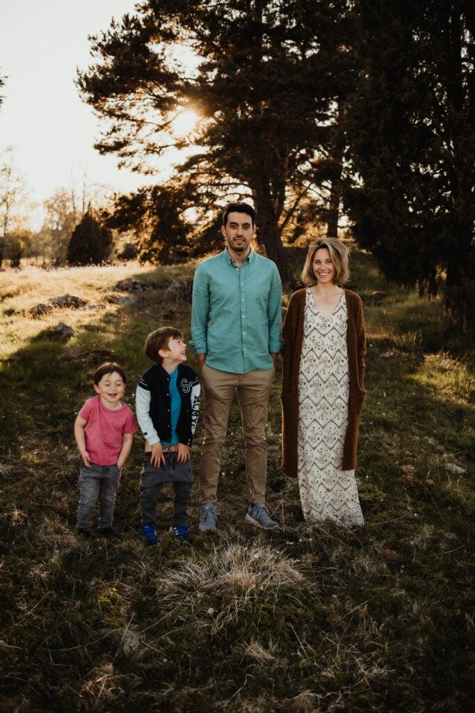 Kusiner - Familjefotografering 6
