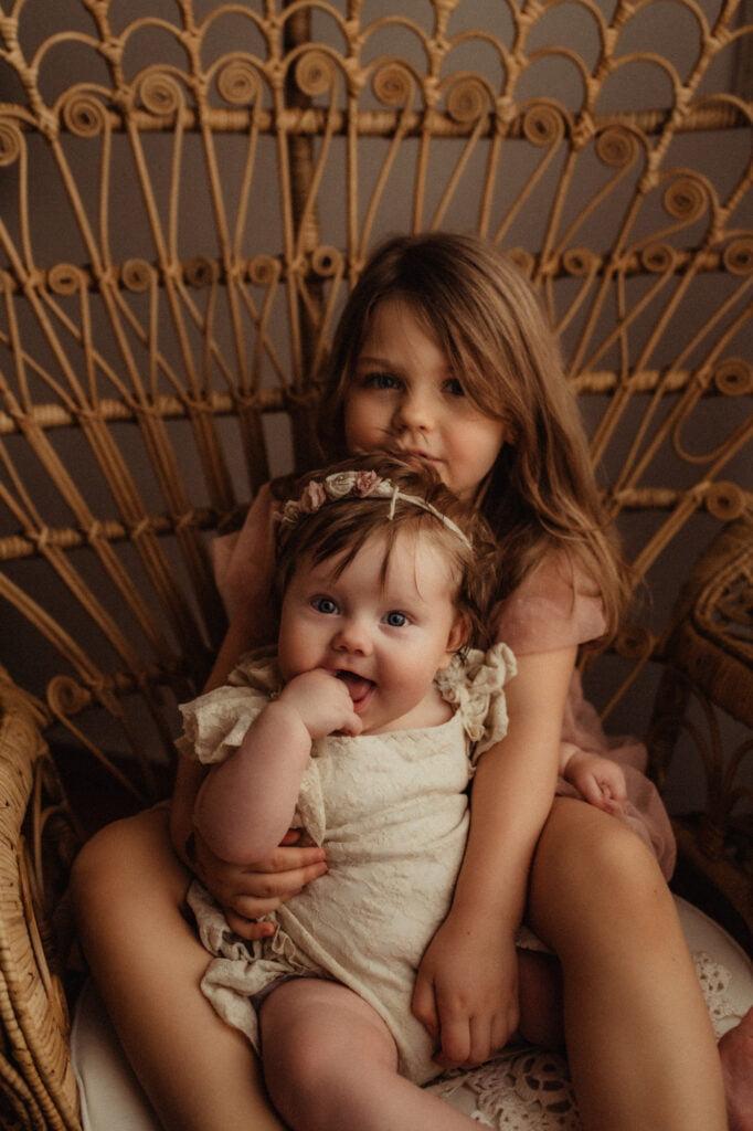 Bebisfotografering i studion
